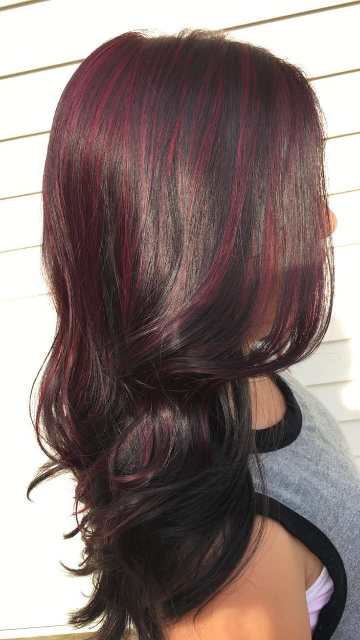 Magenta highlights