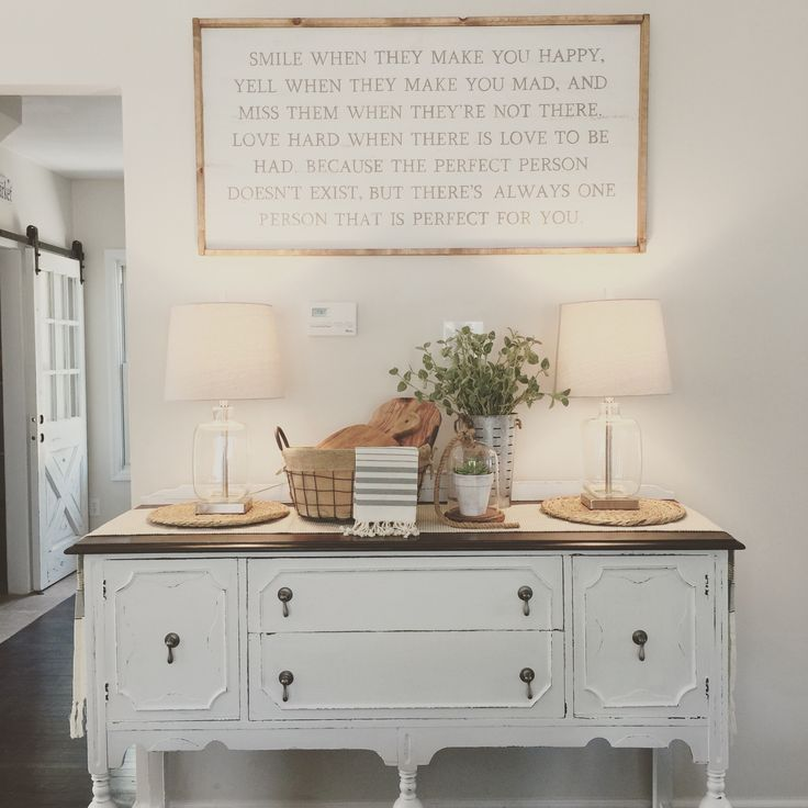 Antique buffet #farmhouse #furnitureredo