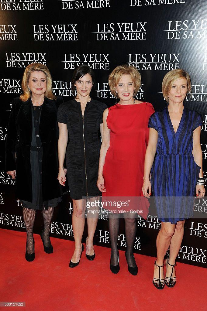 Photo d'actualité : Catherine Deneuve, Geraldine Pailhas, Marisa...
