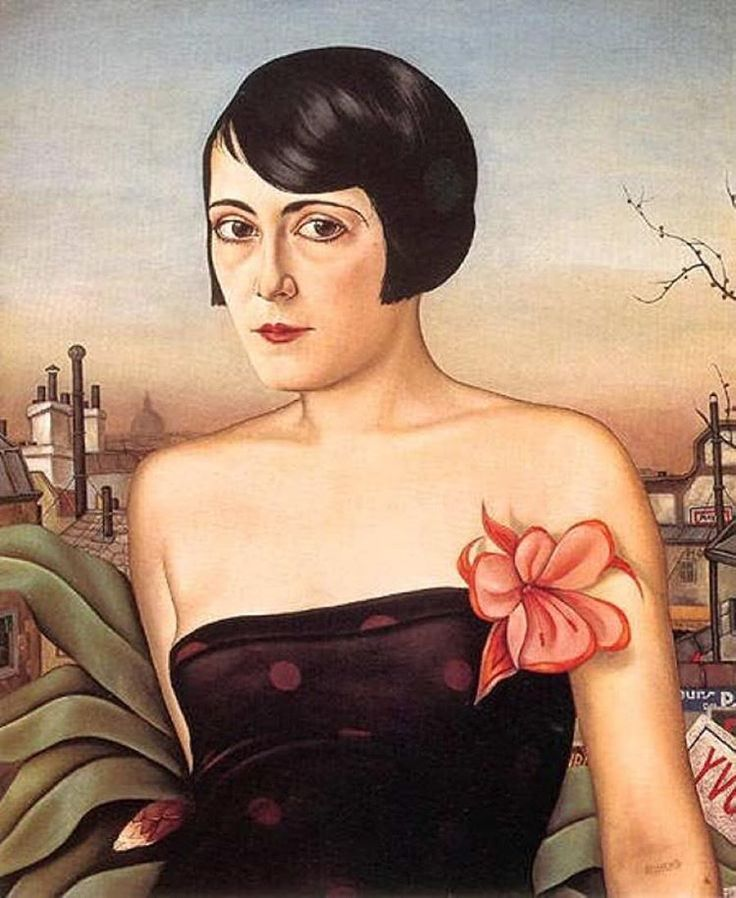 Christian Schad (1894-1982, Germany) new objectivity | Maika, 1929