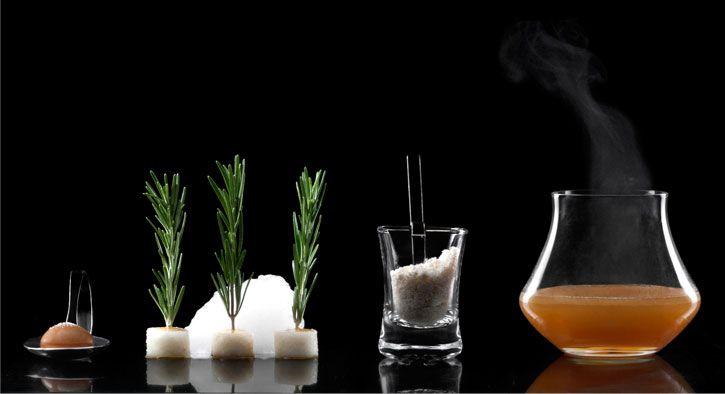 The Caramel - molecular mixology cocktail at Barchef Toronto
