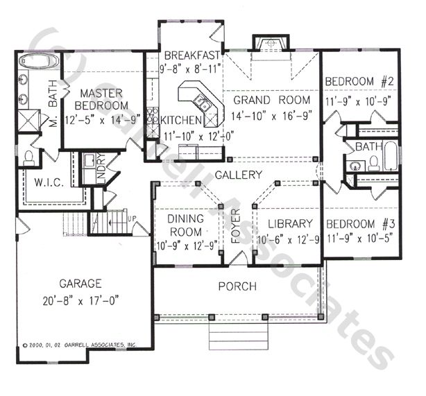 Handicap accessible ranch home plans home design and style for Accessible house plans