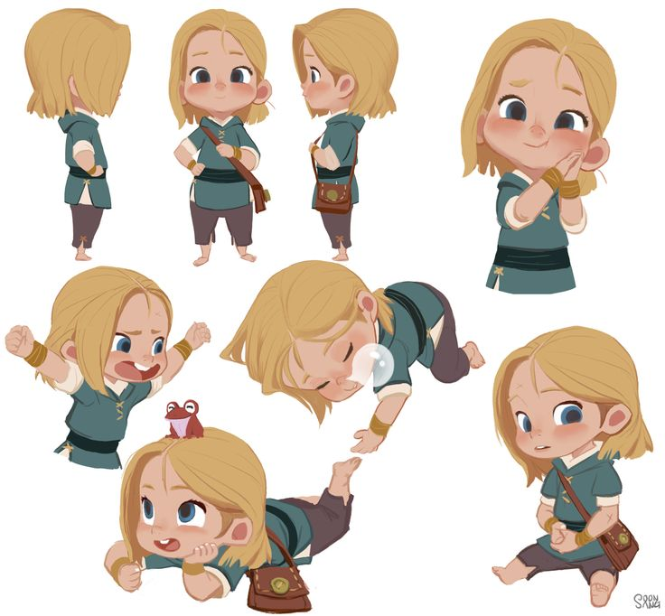 "ArtStation - Robin hood - Brat pack in Sherwood forest ""Judy"", Hong SoonSang"