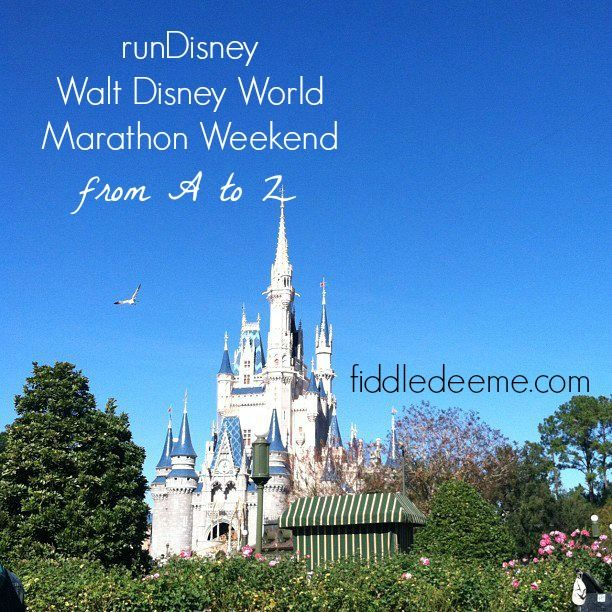 The A-Z of runDisney Walt Disney World Marathon Weekend