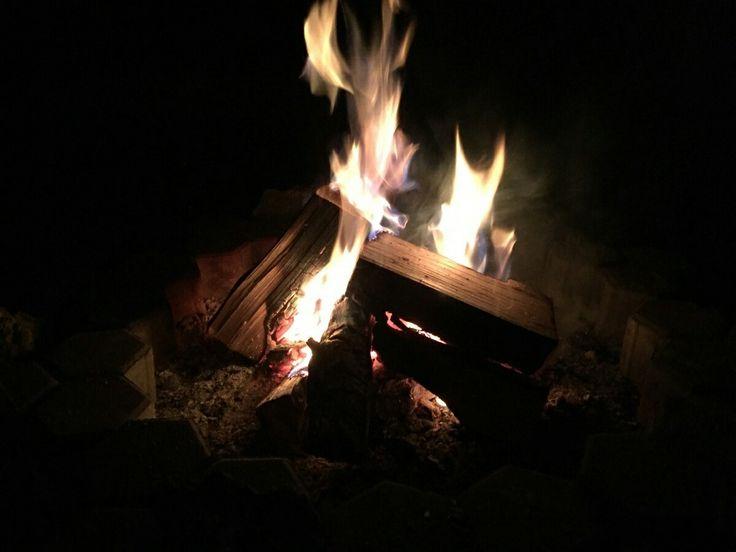 Hivshu's shamanic fire. Шаманский костёр Хившу.