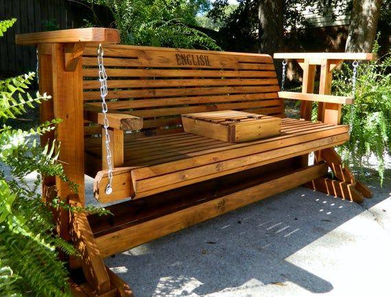 outdoor glider patio glider porch swing