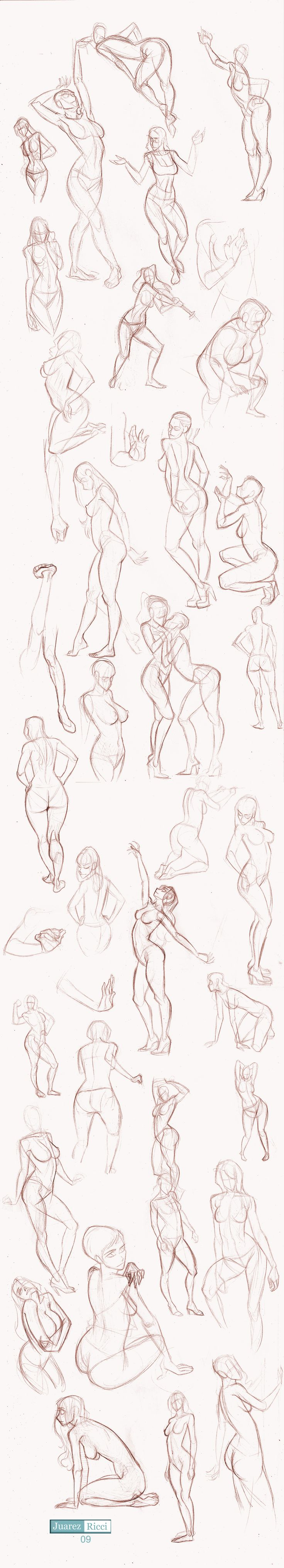 Studies Part II by juarezricci.deviantart.com on @deviantART