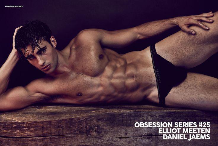 Elliot Meeten is Obsession Series No25 - by Daniel Jaems | FTAPE.COM - FASHION TAPE