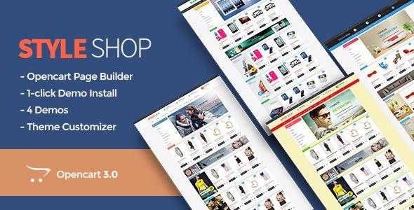 Pav StyleShop Responsive Opencart 3 Theme #StyleShop, #Pav