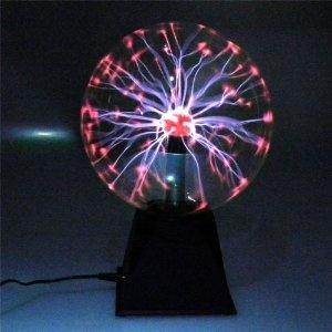 Magische Blitze Plasmakugel Plasmaball 20cm: Amazon.de: Spielzeug