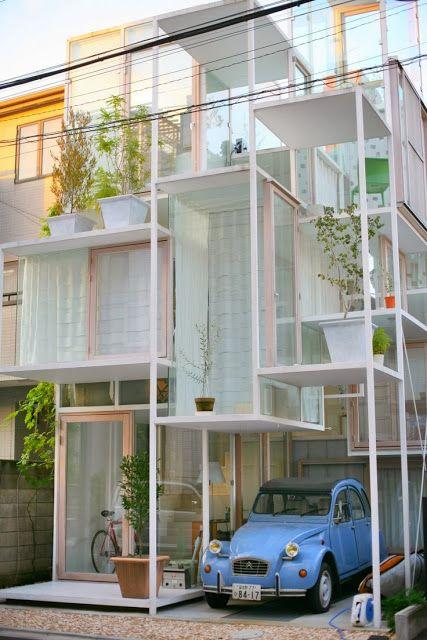 House NA by Sou Fujimoto (Tokyo, Japan)