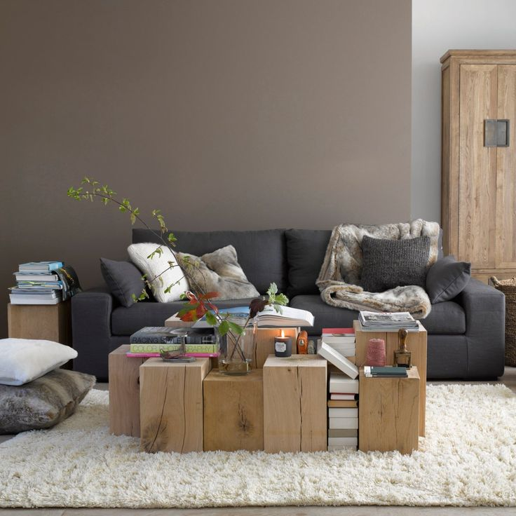 les 25 meilleures id es de la cat gorie canap taupe sur. Black Bedroom Furniture Sets. Home Design Ideas