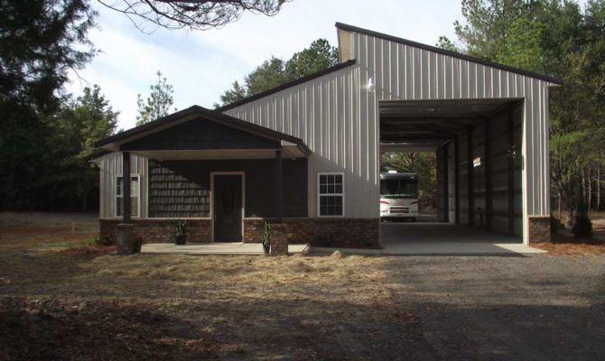 Metal Garage Buildings Apartment Residential Workshop ...