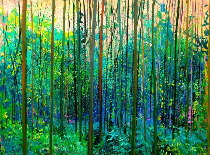 Ann's Art - schilderij bos