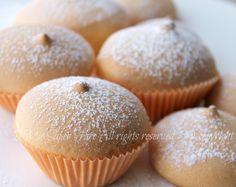 """Tette delle monache ricetta infallibile il mio saper fare60 g di zucchero a velo 250 g di farina """"AFRICANO MIX"""" ( si trova presso i supermercati ) 300 g di uova (circa 5 uova medie)"""