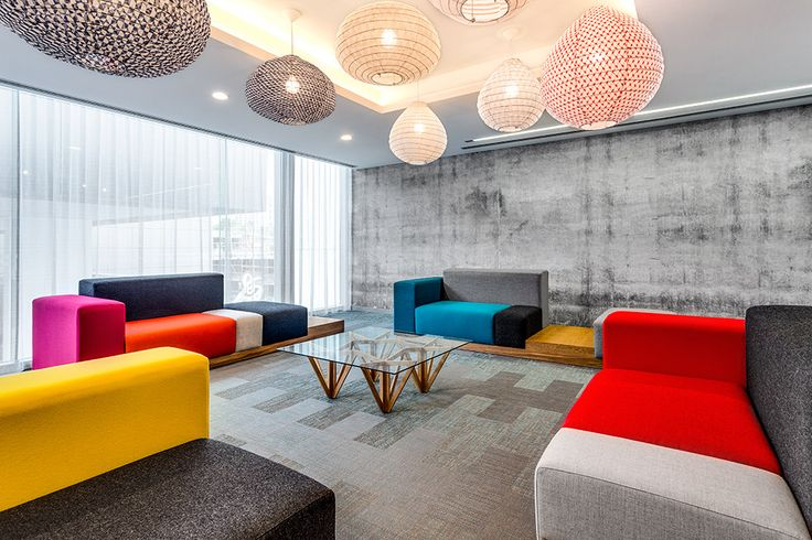 One Of Our Concrete Wall Murals In The Queens Riverside Apartments. Styling Vivien Hegedus from ViViDesign Interior. Flooring by Bolon. Seating by Arthur G. Photography Matt Figgess.