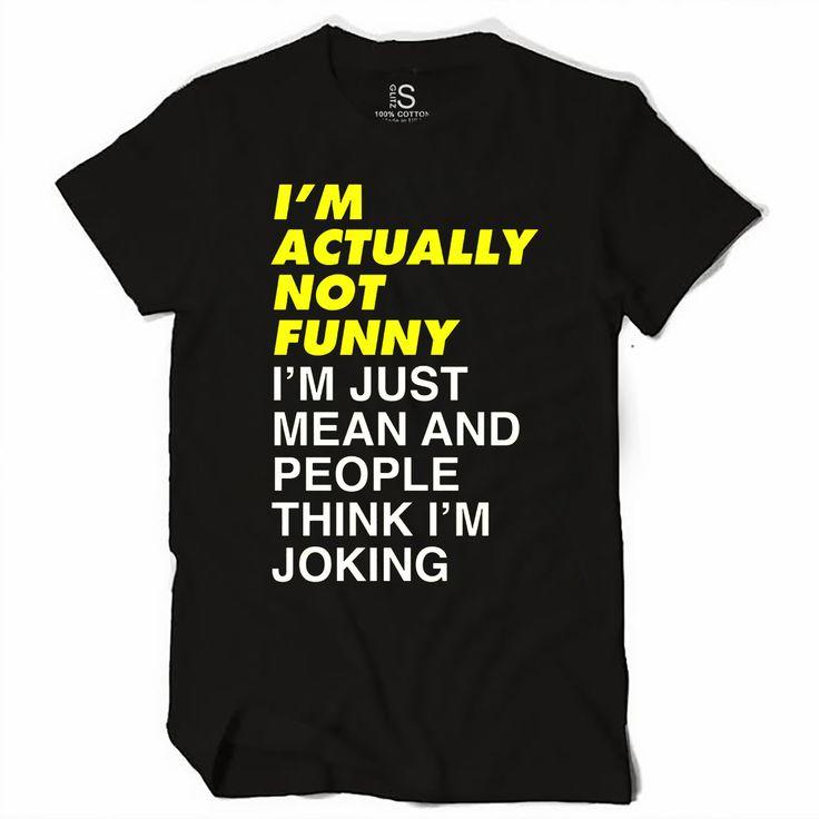 I'm Not Funny Women's T Shirt