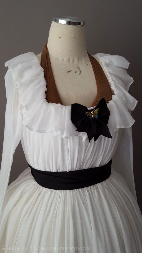 Historical costuming and vintage sewing projects, …