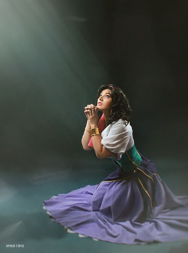 """God Help the Outcasts."" Esmeralda by lucilla665.deviantart.com"
