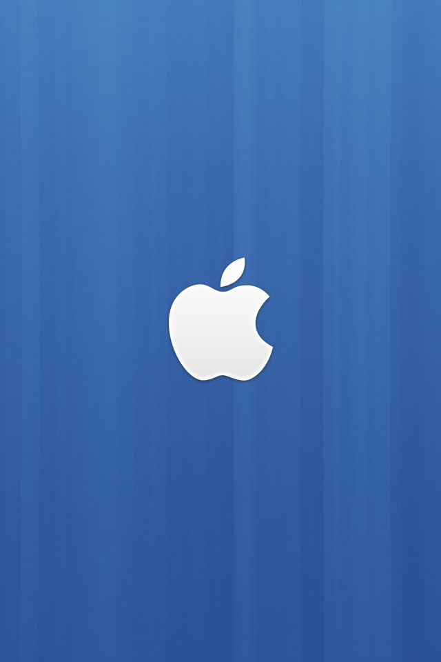 Blue Abstract Apple Wallpaper | APPLE WALLPAPERS