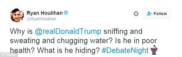 Stephen Colbert pokes fun at Trump's sniffling during 2016 presidential debate | Daily Mail Online