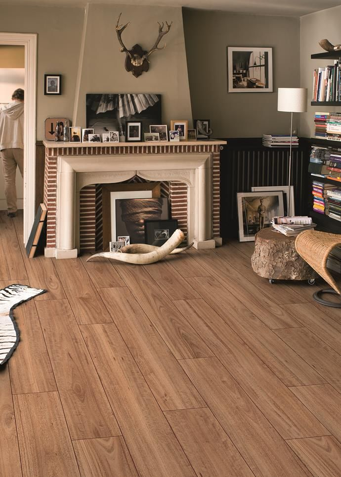 Is it timber or laminate? Quick-Step's Largo planks look like Blackbutt timber boards, but are actually laminate.