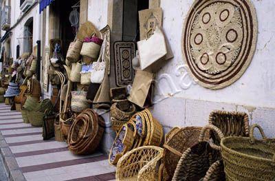 Gata de Gorgos; artesania / cestería