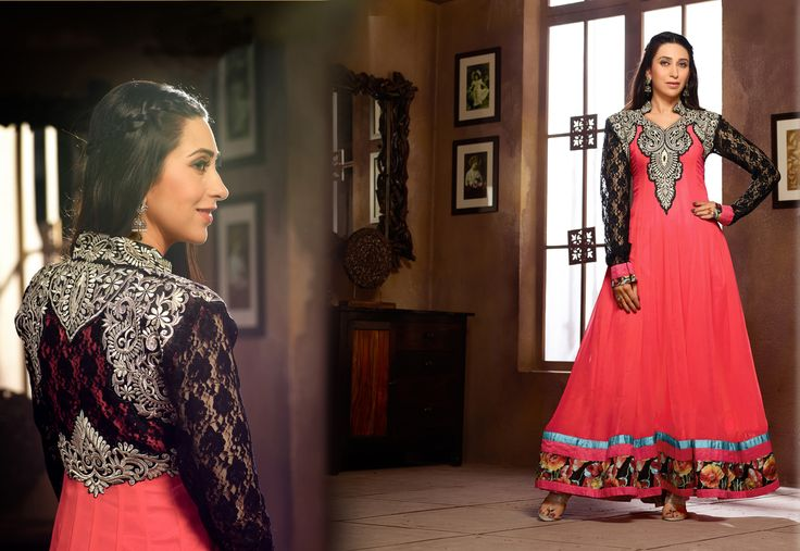 #karismakapoor #divacollection. Try this exquisite diva collection modeled by Karisma Kapoor, displayed on ethnicstation.com