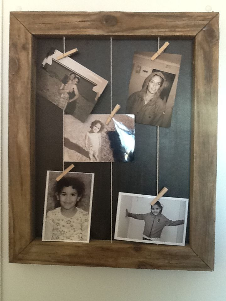 my first vintage photo frame