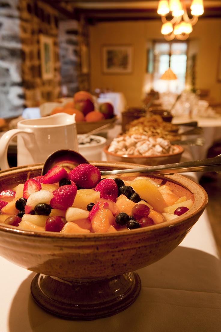 Petit déjeuner-Auberge des Glacis www.chaudiereappalaches.com