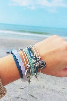 Beach Bracelets, i already wear some to show my love for the beach, and always looking for more