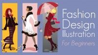 The focus of this free online class is the creation - and practical use - of fashion design illustrations using computer software, templates and offline sketching. Includes 11 brief lectures.