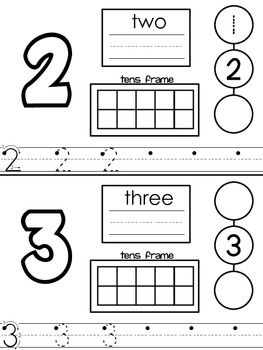 transitional kindergarten | Numbers for Transitional Kindergarten - Mrs. Baldridge ...