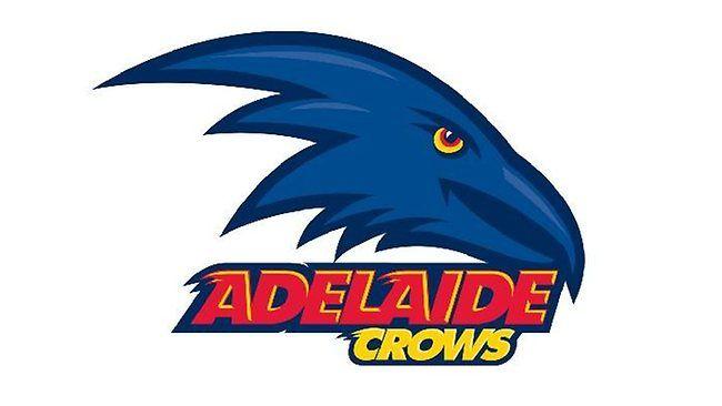 Adelaide crows logo. Australian football.