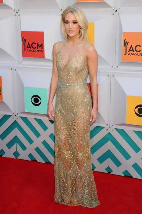 Carrie Underwood at Academy of Country Music Awards 2016 in Las Vegas...