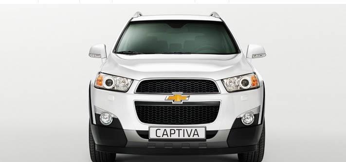 La seguridad es un punto alto en un SUV como Chevrolet Captiva, diseñado para tu familia.