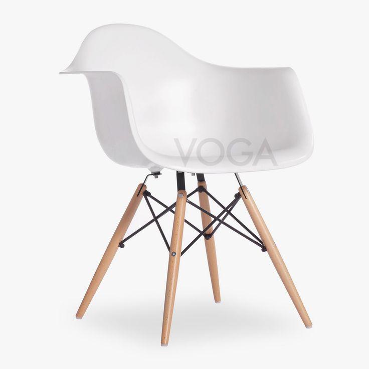 DAW Stoel Charles Eames | Design Stoelen | VOGA