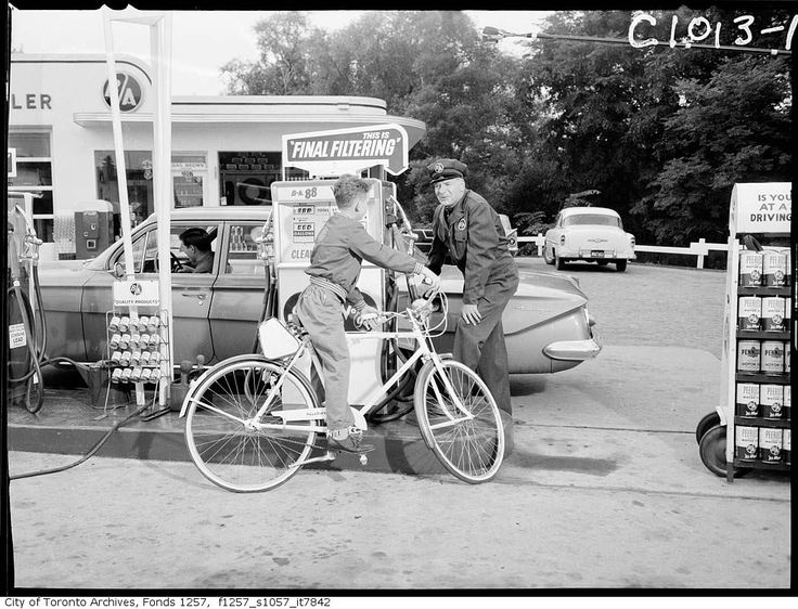 1950's gas station - Google Search