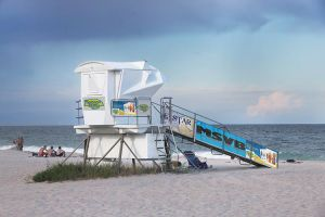Vero Beach lifeguard towers
