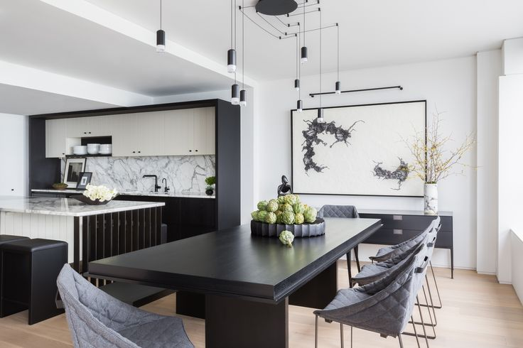 A Cramped Kitchen and Dining Room Become One Ideal Entertaining Spot Photos | Architectural Digest