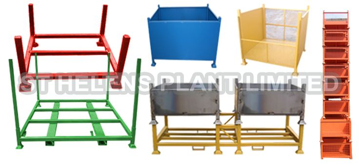 SPRING SCAFFOLDING STORAGE SOLUTIONS!  STILLAGE, STEEL PALLETS & BINS  To see our full range visit us at -  WWW.STHP.CO.UK