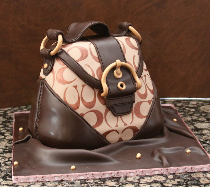 images of purse cakes | Coach Purse Cake