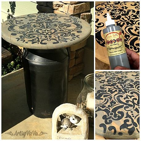 A friend gave me this old milk can a couple of years ago and it has remained on my front porch ever since...          It was a great decora...