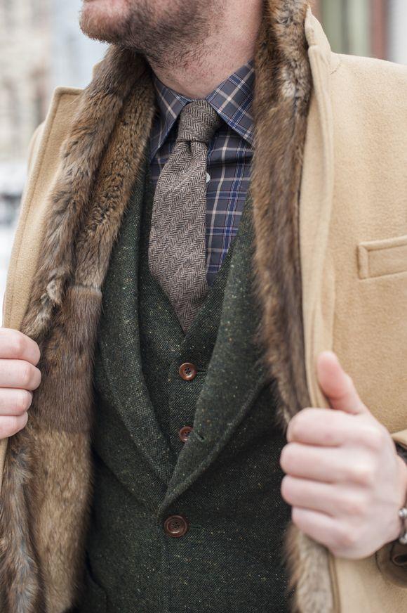 Who Wore It Best: Ariston Green Tweed