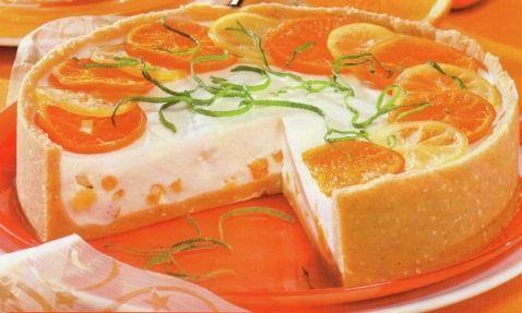 Pomerančový dort - DIA