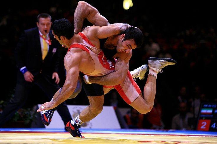 Lucha grecorromana.  Grecorroman wrestling.  FILA.
