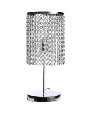 Crystal style table lamp