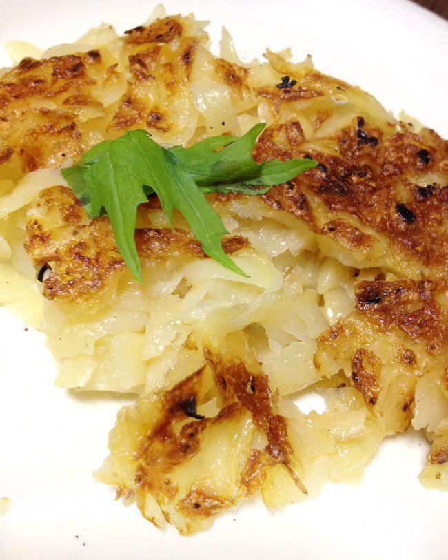 スイス料理 ロスティ - Roschti 【Hero】 の通販 - TIRAKITA.COM スイス料理 ロスティ - Roschti 【Hero】の写真4 - フライパンでこんがり焼い