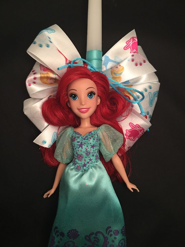 A personal favorite from my Etsy shop https://www.etsy.com/listing/272091648/ariel-the-little-mermaid-girls-princess