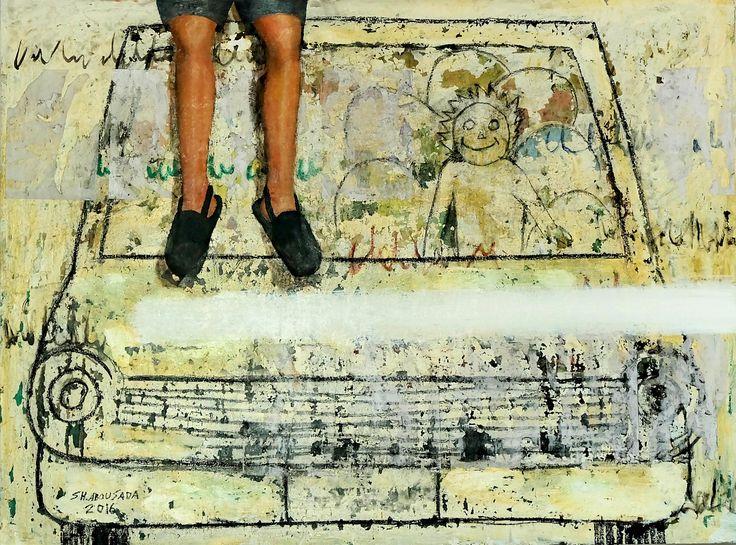 Mixed media on canvas 90 x 120 cm 2016